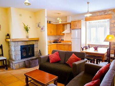 Photo for Rural House of 3 stars green with heating, fireplace and own garden