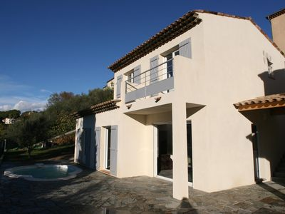Photo for Individual House with pool 14 km from Nice