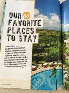Our property was chosen as the featured maui property for fav places to stay