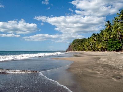 Photo for Oceanfront Sandy Beach, Pristine Jungle Setting. Private Guesthouse Studio.