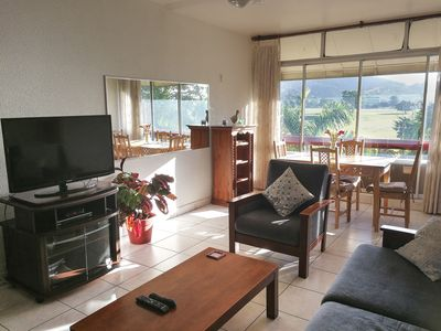 Photo for Overlooking Port of Spain Savannah 2-bed spacious apartment