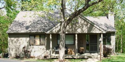 Photo for Lovely Home w/ Fireplace, Double Screened Porch & Large Bi-Level Decks