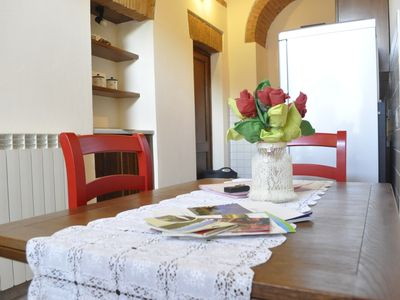 Photo for Tuscany farmhouse with spectacular views of countryside