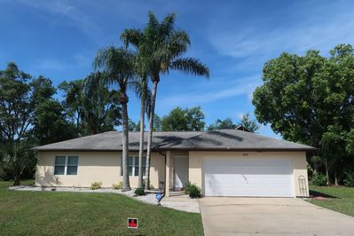 Come Visit our cozy home with a spacious back yard and fenced in pool area.