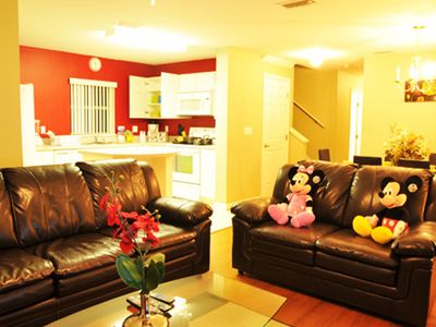 Photo for Disney On Budget - Club Cortile - Amazing Cozy 4 Beds 3 Baths Townhome - 5 Miles To Disney
