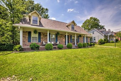 Bring the family along on a trip to this Clarksville vacation rental home!