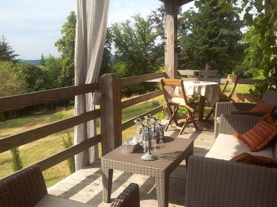 Photo for Tasteful and luxurious furnished holiday home estate with castle in the Vosges