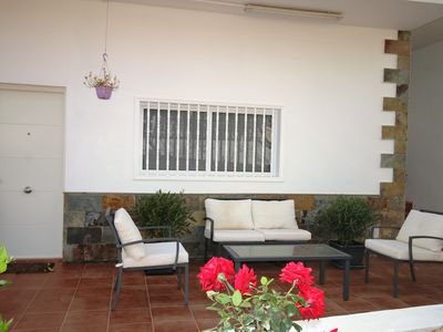 Photo for Beautiful villa with garden, jacuzzi and sea views