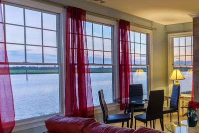 Fantastic Waterfront View from Living Room