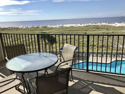 Photo for Beautiful Gulf-Front Views from this 3rd Floor Condo!