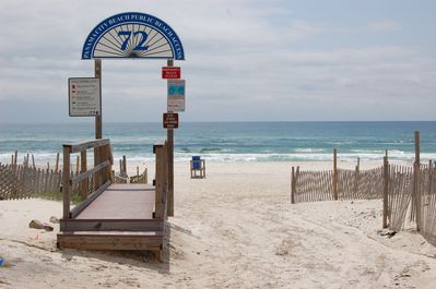 Directly Across the Beach and Easy Access