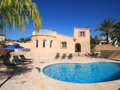 Photo for Cometa-86 - villa with private pool close to the beach in Calpe