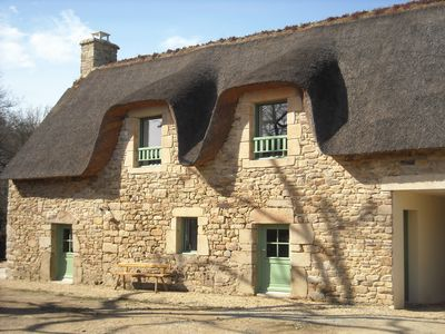 Photo for Comfortable Breton cottage 6p. near the river 800m from the village