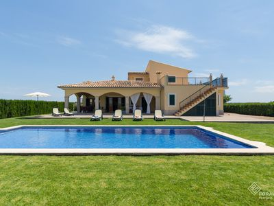 Photo for Mussol - Beautiful villa with pool and garden in sa Pobla