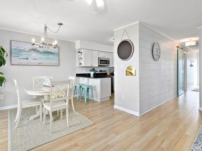 Photo for Beautifully updated ocean block condo steps from beach!