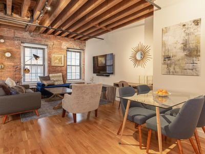 Photo for NEW! Downtown/Greenway , Walk Everywhere, 1BR Modern Loft