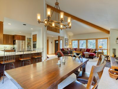 Photo for NEW LISTING! Spacious Sunriver home w/ deck, private hot tub and SHARC passes!