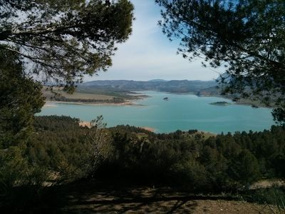 Photo for Chalet home, situated in the Spainsh countryside among olive groves and lakes.