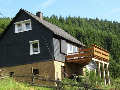 Photo for Holiday home in the Sauerland with a large terrace and a spaciously furnished interior