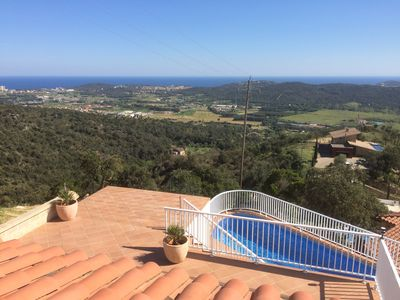 Photo for Villa Gardenia with pool and stunning sea and mountain views, 2-6 Pers.
