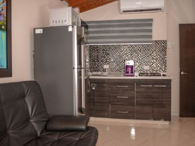 Photo for Two bedroom Combo Two apartments TWO Hot Tubs AC Lleras