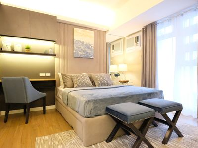 Photo for Fully Furnished Condo across Ayala Center with Cable and Internet