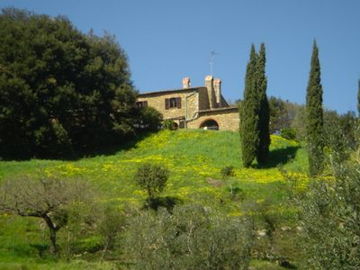 Photo for A stone farmhouse from 1850 with heated pool for the lovers of peace and beauty