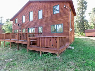 Photo for Knotty Pine, Gorgeous Terry Peak Cabin with Hot Tub, Air Conditioning & WiFi