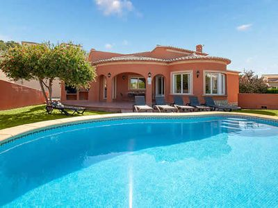 Photo for Attractive 3 bed 2 bath villa w/country views & private pool, an easy drive from the beach