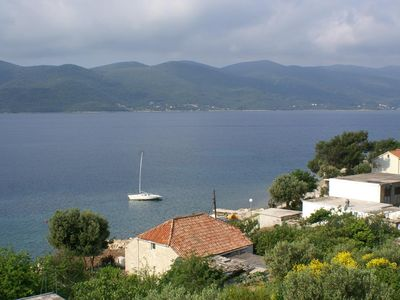 Photo for One bedroom apartment with terrace and sea view Viganj, Pelješac (A-260-c)