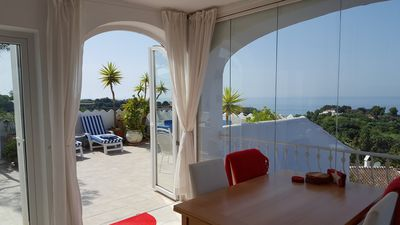 Photo for Penthouse Villa with 360 degree panoramic sea, mountain views