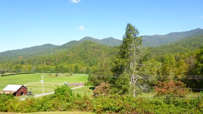 Photo for Enjoy, Beautiful, up close & personal mountain views ,1 mile from Lake Chatuge