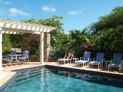 Photo for Luxury 3-4 BR Stone Villa with Pool - Privacy and 180° Views