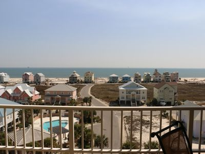 Photo for AWESOME VIEW OF GULF FROM THIS 3 BEDROOM CONDO!