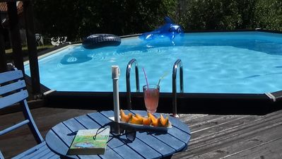 Relax and chillout by the pool