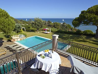 Photo for 6 bedroom Villa, sleeps 12 in Santa Eulália with Pool, Air Con and WiFi