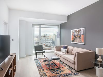 Photo for Contemporary 1BR in Hell's Kitchen by Sonder