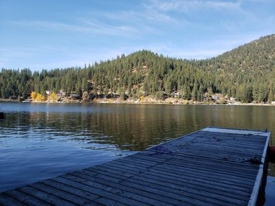 Photo for Waterfront * Private dock * Kayaks and more on Beautiful Deer Lake