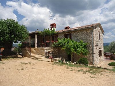 Photo for Apartment 1, Agritourism Tikel near Motovun, rural, great for families