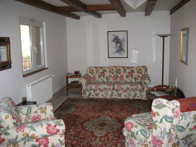 Photo for Apartment on Alsace wine route in converted mill overlooking the Andlau River