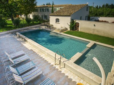Photo for completely renovated farmhouse in Avignon in Provence heated pool 2 min TGV station