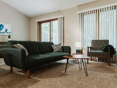 Photo for Family Friendly Cul-De-Sac Home with a Mid Century Mod Design
