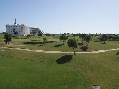 Photo for Apartment on Golf and Sea view