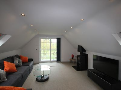 Photo for The Loft At Flintstone Cottages Near Chichester Goodwood Sleeps 4/6