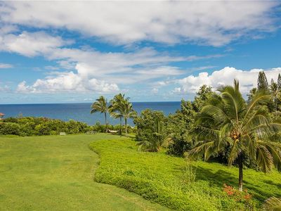 Photo for Spectacular 180 Degree Northshore Princeville Panorama, Billowy Coconut Palms, Fresh Ocean Breeze