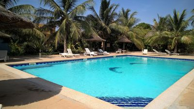 Photo for VILLA WITH PRIVATE GARDEN IN RESIDENCE --- EXCEPTIONAL SITUATION IN SALY