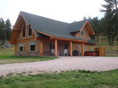 Photo for Log Cabin with Hot Tub