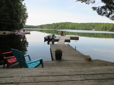 Photo for Deep Lake, Sun And Shade All Day, Numerous Decks And Docks, Drive To The Door