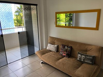 Photo for 2 bedroom furnished apartment in Piatã beach, Salvador.
