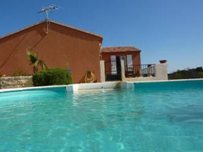 Photo for House for rent with private pool in Boutenac (Aude South France)